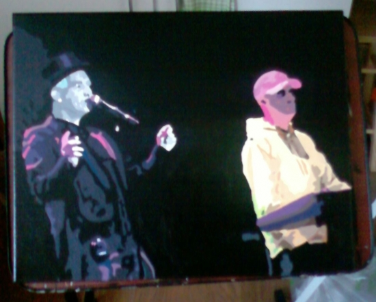 Pet Shop Boys por marinamusgrove